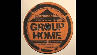 Group Home - Up Against Tha Wall (Lo Budget Mix) (Instrumental)