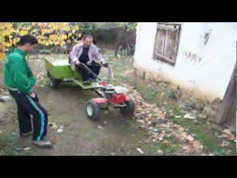 Çapa Makinesi Römorklu Video