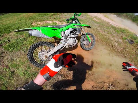 2020 KX250F Stupid Crash and Broken Bone