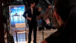 2015/04/09男人不該讓女人流淚~蘇永康~簡伯廷~小提琴~板橋大遠百