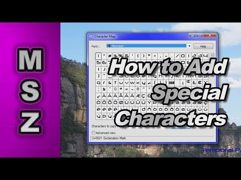 how to use special characters in xml