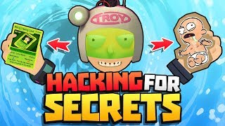 HACKING TROY TO FIND *ALL* HIDDEN SECRETS!!    Rick and Morty: Virtual Rick-ality VR Gameplay