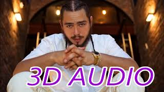 Post Malone (3D AUDIO) - Better Now (Wear Ear/Headphones)
