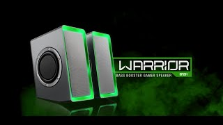 BASS BOOSTER GAMER SPEAKER - SP201