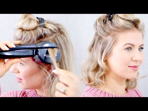 Drugstore AUTOMATED CURLING IRON? Conair Infiniti PRO Curl Secret 2.0 | Milabu
