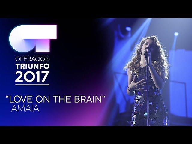 Vídeo de Amaia Romero cantando Love on the Brain
