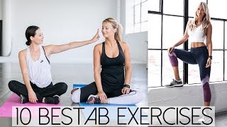 10 Best Ab Exercises For a Flat Stomach | Aja Dang x Laura Varney