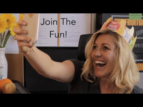 The 3 Ways to Join The Fun - National Fruit At Work Day!