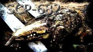 SCP 682 Grabacion tributo - homenaje - recreación creado por JagiSkull87