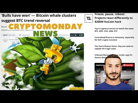 BITCOIN Regge e si Rialza. DeFi + ETH 2.0 - CryptoMonday NEWS w39/'20