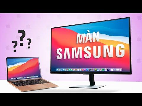 Màn hình THÔNG MINH Samsung dùng như PC, kết nối không dây iPhone, MacBook?