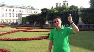 「仙樂飄飄處處聞」拍攝地(米拉貝公園)奧地利