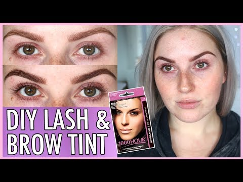 LASH TINT & BROW DYE AT HOME! ??? How To DIY