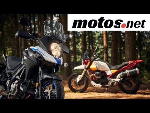 Comparativo Moto Guzzi V85TT vs Suzuki V-Strom 650 XT | Preview en español HD | motos.net