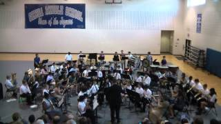 "Genoa Middle School Band playing ""Night-Flight of the Gargoyles"""