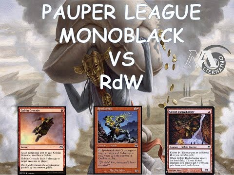 Pauper League MBC R1 Vs RdW