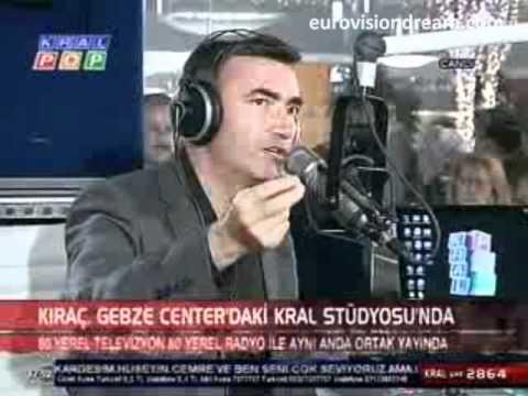 """Kıraç: """"Eurovision için teklif aldım, düşünme sürecindeyim"""""""