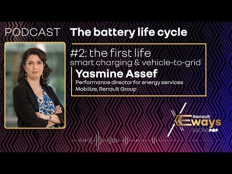 Podcast: Yasmine Assef and EV battery 1st life – Episode 2