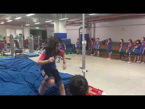 體育課跳高練習之二 - YouTube