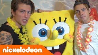 Benji & Fede @ Los Angeles   Ep. 6: Colazione con Spongebob   Nickelodeon