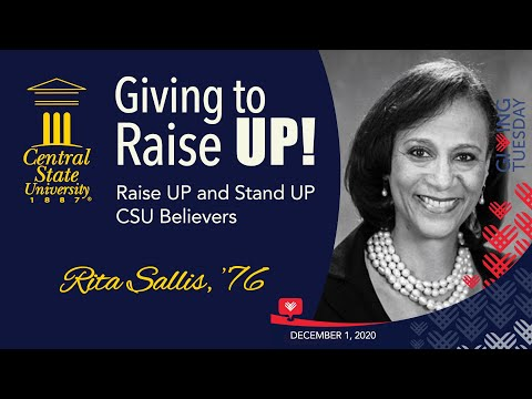 Giving to Raise UP! Alumna  Rita Sallis '76