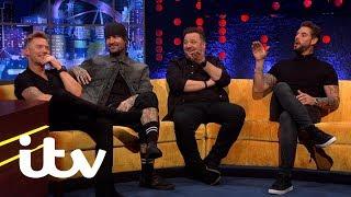 The Jonathan Ross Show | Boyzone's Pavarotti Plane Story | ITV