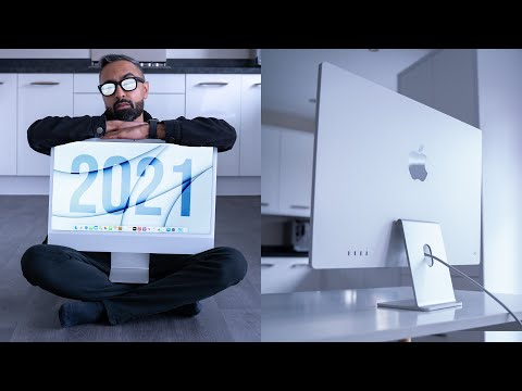 iMac 2021 Silver - Unboxing & Review