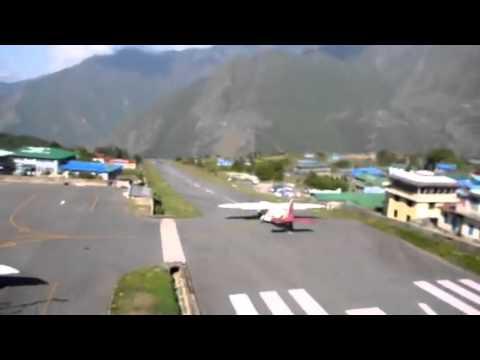 Lukla Airport Take-off