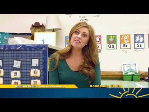 United Way of YC - Kindergarten Readiness Video - Academic Skills