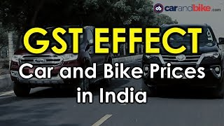GST Effect on Car and Bike Prices | GST Impact on Auto Sector | NDTV CarAndBike