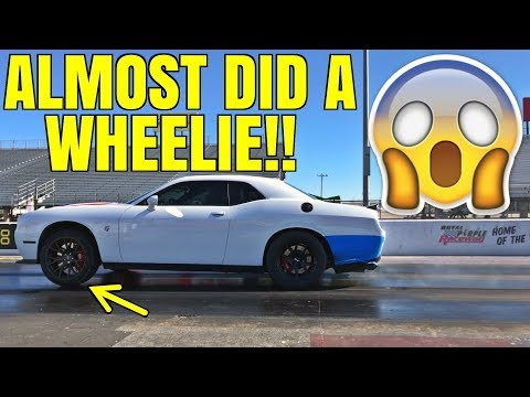 Fastest STOCK Hellcat in the World?!