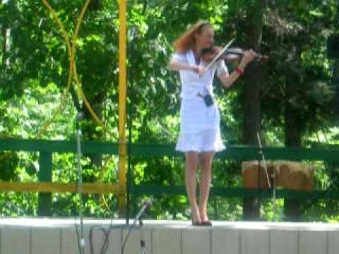 Ukrainian folk festival 8/17/08 program violinist