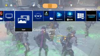 How to set custom picture as background on PS4