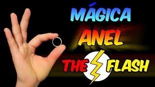 Mágica do anel The Flash