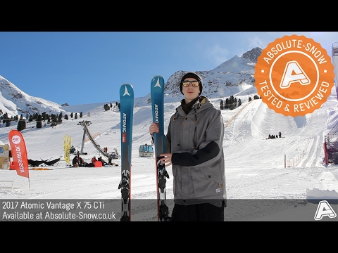 2016 / 2017 | Atomic Vantage X 75 CTi Skis | Video Review