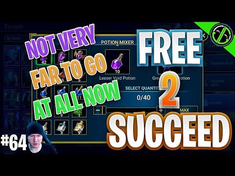 A Few Potions & A Little Food And We're Fusing Vergumkaar! Free 2 Succeed - EPISODE 64