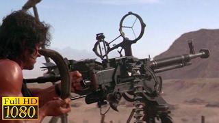 Rambo 3 (1988) - Rambo Destroy The Chopper Scene (1080p) FULL HD