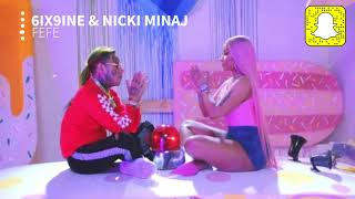 6ix9ine - FEFE (Clean) ft. Nicki Minaj