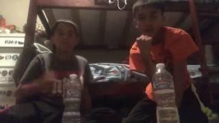 Water Bottle Flip Trick Shots | Duck Boy 21