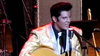 "CODY SLAUGHTER as the ""Young Elvis"" Performs SHAKE, RATTLE & ROLL, Elvis Week, 2012"