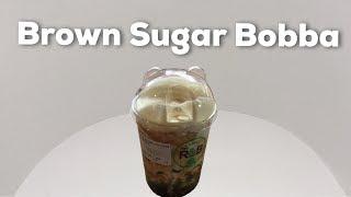 Brown Sugar Bobba Milk at R & B Tea in Singapore