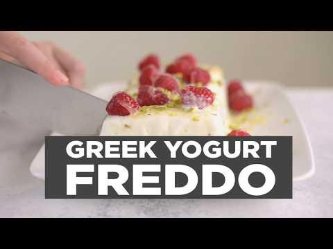 A Greek Yogurt Healthy-Freddo with Berries to Satisfy Your Sweet Tooth