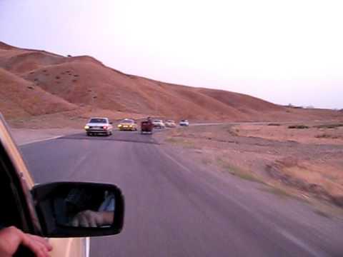Taxi Caravan into Fes