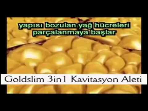 Goldslim 3in1 Ev Tipi Kavitasyon Aleti -- 2 Gold Slim Jel Hediye