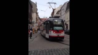 Olomouc tram. Czech Republic