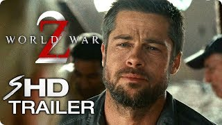 WORLD WAR Z 2 Teaser Trailer #1 (2019) Brad Pitt Concept Zombie Movie HD