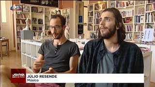 Salvador Sobral presents 'Alexander Search' on 'Super Bock Super Rock' TV Reports 11-07-2017