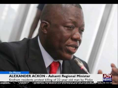Krofrom tension - News Desk on Joy News (27-5-16)