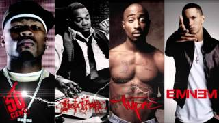 2pac ft. 50 cent, Eminem, Busta Rhymes -- Strong ( New 2016)