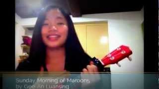 Sunday Morning (Maroon5) cover - Gee An of Insignia